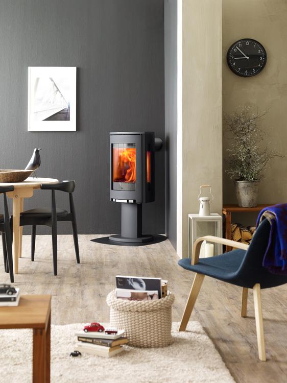 jotul f-373 black fireplace