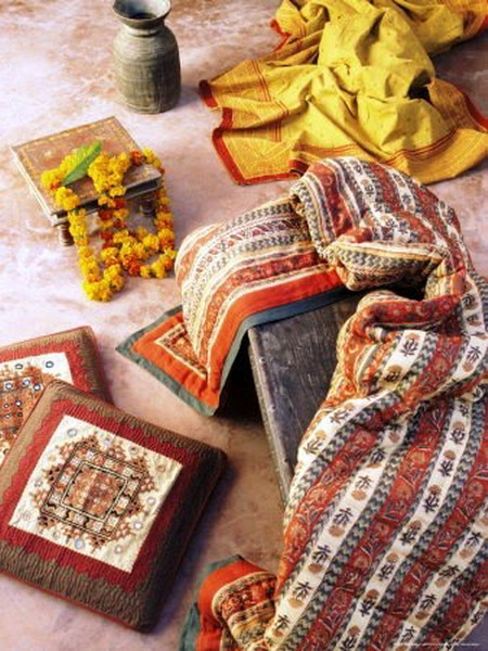 indian style floor cushion ideas