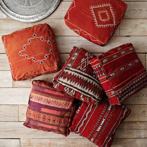 arabian style floor cushion ideas