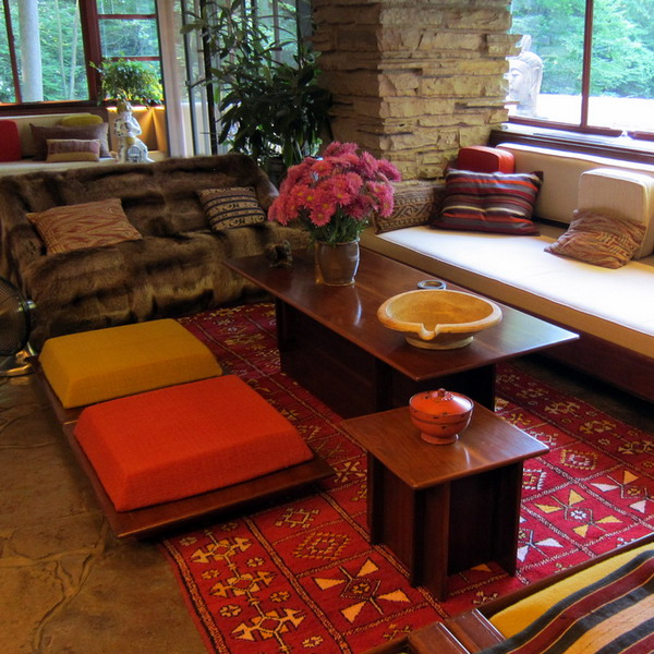 Attractive ... Anese Style Floor Cushion Ideas ... Part 21