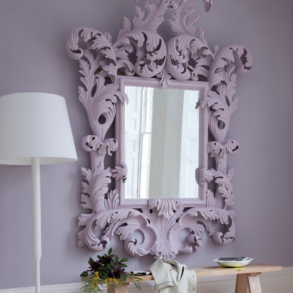 decorating hallway with unique mirror - Unique Mirror Ideas
