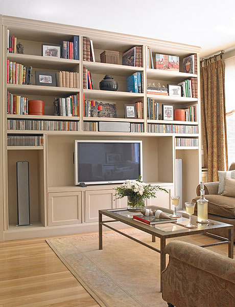 Make A Living Room A Library: Creating A Home Library In The Living Room