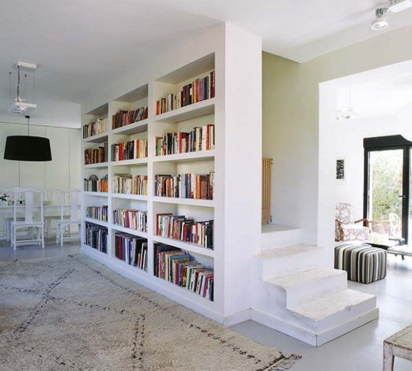 home living room library