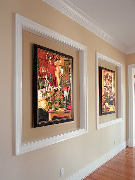 The Art Of Hanging Paintings Around The House Interior