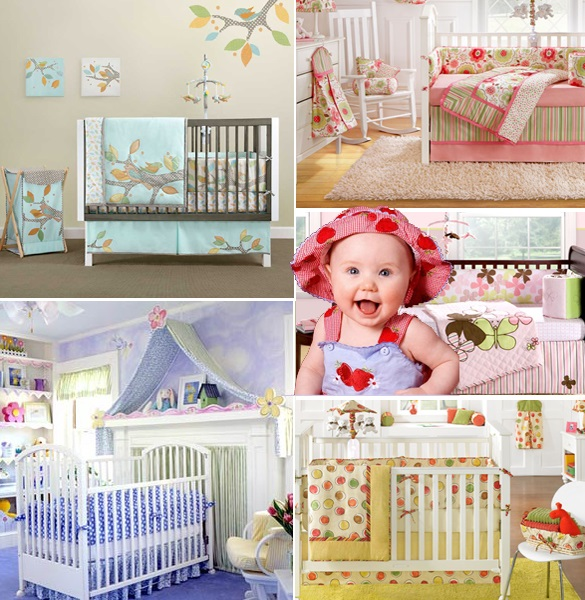 choosing the color palette for the kids room