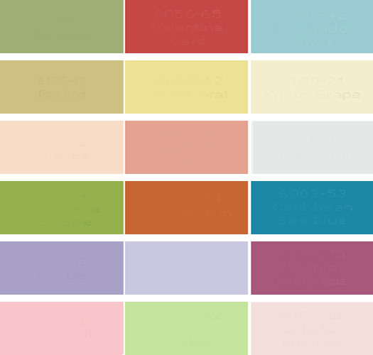 Choosing The Color Palette For The Childrens Room on Color Learn Rain