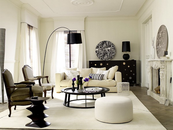 Art of white living white in the modern home interior design ideas