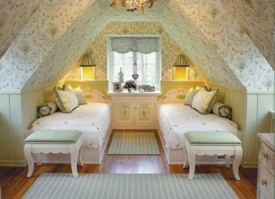 attic wall space ideas