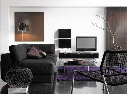 black color furniture 01
