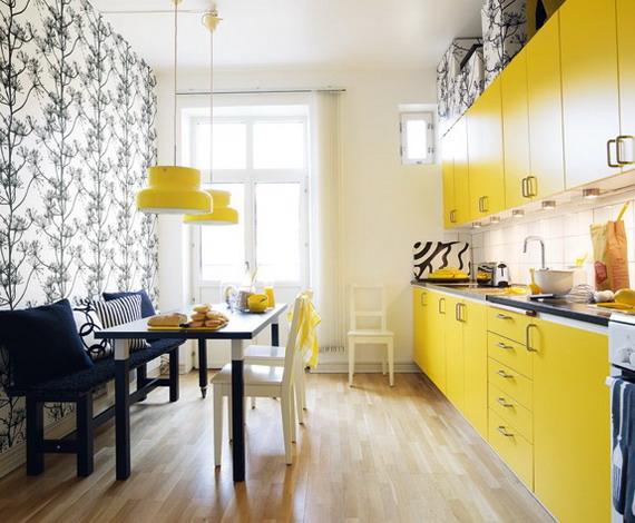 black white yellow combo
