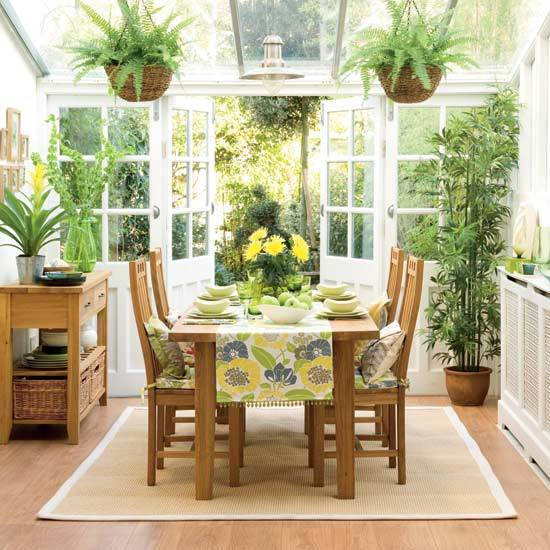 Fresh Indoor Plants Decoration Ideas For Interior Home: The Summer Palette Choices Of Green And Brown For All