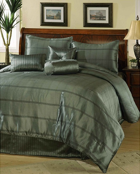 Masculine Bed Linen Color Scheme For Simple Teen Boy: Top Ideas For Men's Bedroom: Exclusive For The Masculine