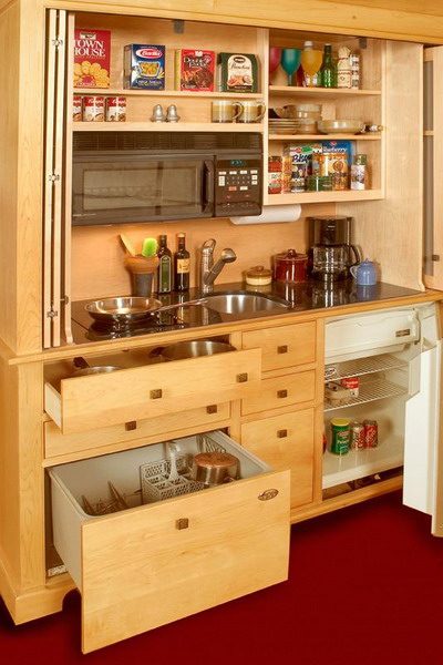 smart ideas for mini kitchen