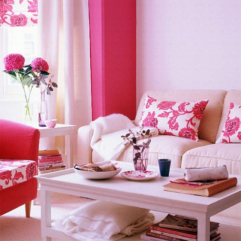 Using the Feminine Shades of Pink for the Interiors | Interior ...