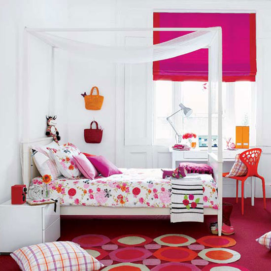 pink bedroom interior ideas