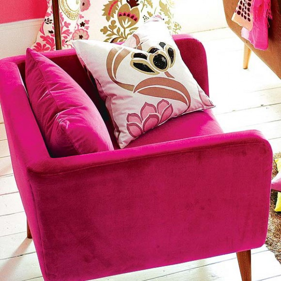 pink furniture ideas