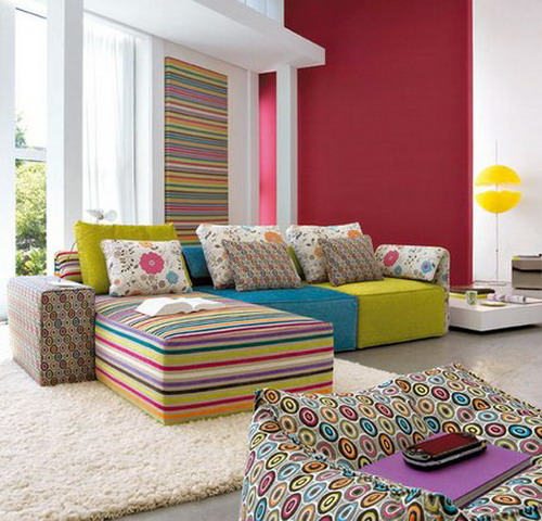 rainbow ideas for home stripes