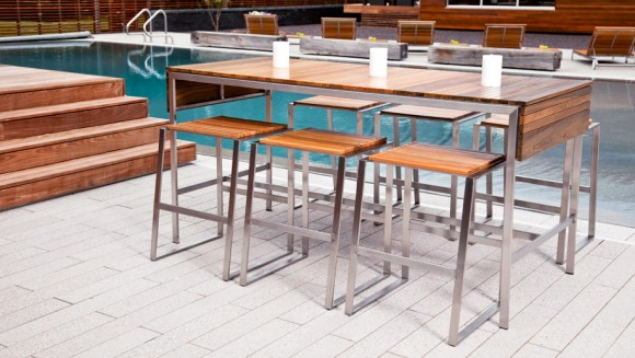 rise bar tables