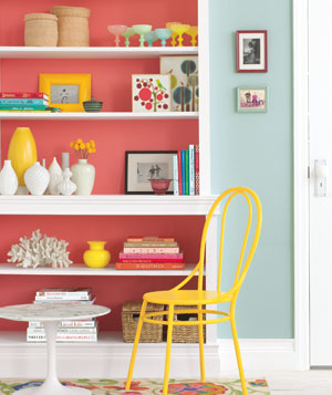 shelves creative color