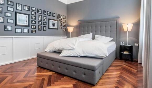 shibby spring bed