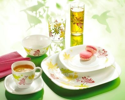 table setting trend eco nature