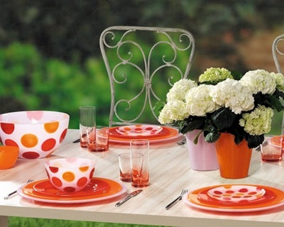 table setting trend geometry