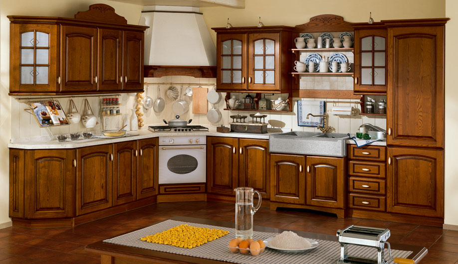 Themed traditional kitchens from arrex le cucine for Decoration cuisine classique