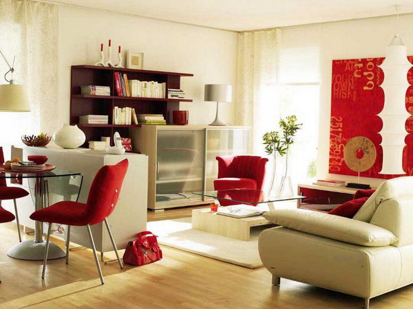 Ideas for a common theme for living room and dining area interior design ideas and for Dining room and living room combined