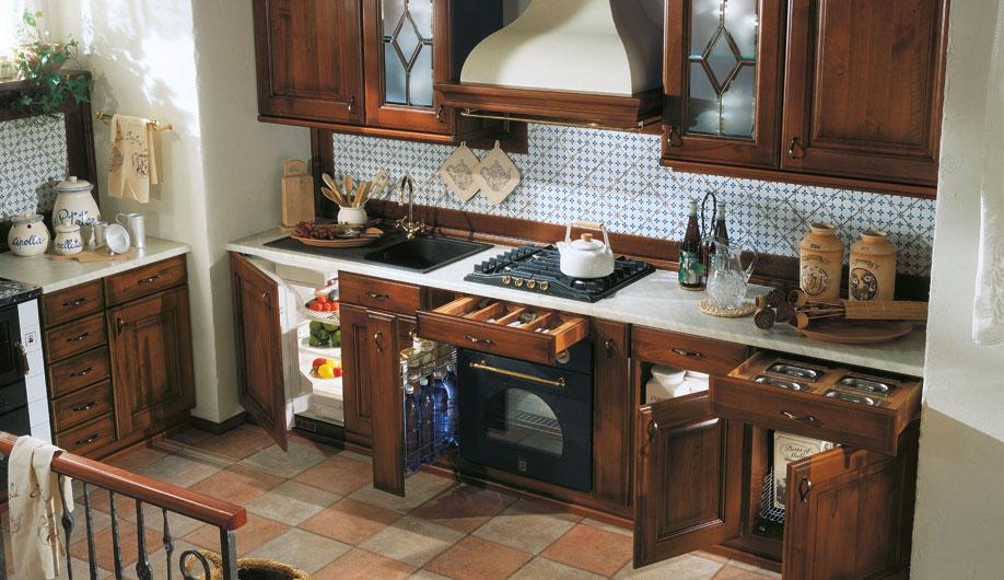 ARREX LE CUCINE'S unique range of wooden kitchen ideas