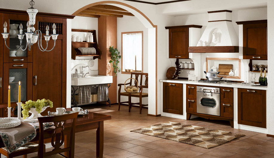 pesca masonry kitchen