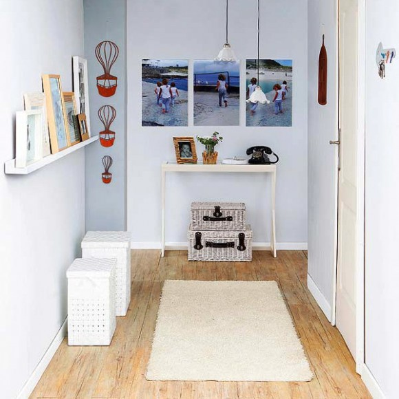 small shelves in small hallways 01