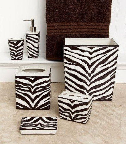 Zebra Bathroom Ideas : zebra print bathroom ideas 03