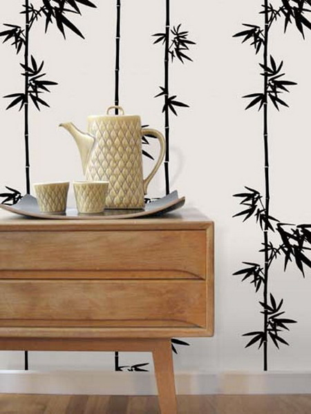 bamboo decor ideas pattern 01