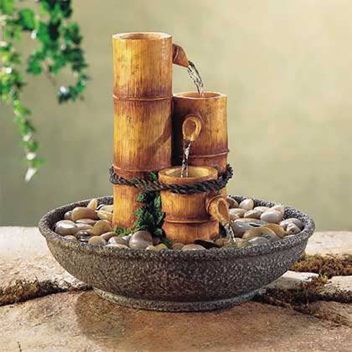 bamboo decor ideas table centerpiece 01