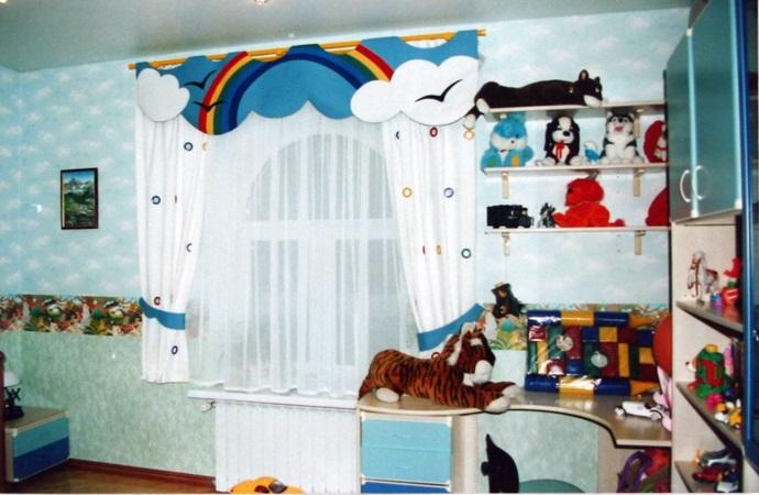Children's Room Curtain Ideas   Kids Rooms Curtains