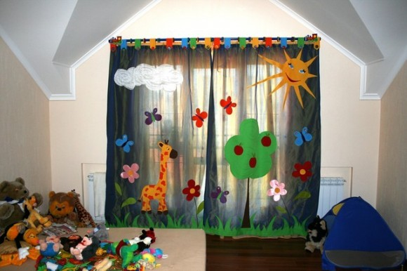 curtain for kids room 12