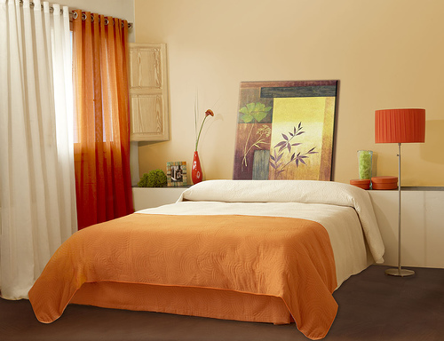 orange for the bedroom 01