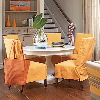 orange for the dining room
