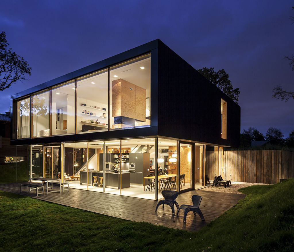 Villa v in bloemendaal by paul de ruiter architects for Architecture villa moderne