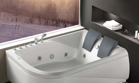 acrylic massage bathtub k 1215