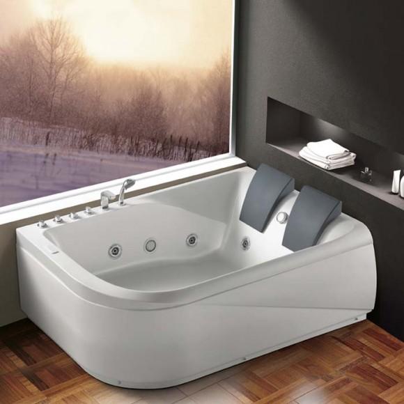 acrylic massage bathtub k 1215