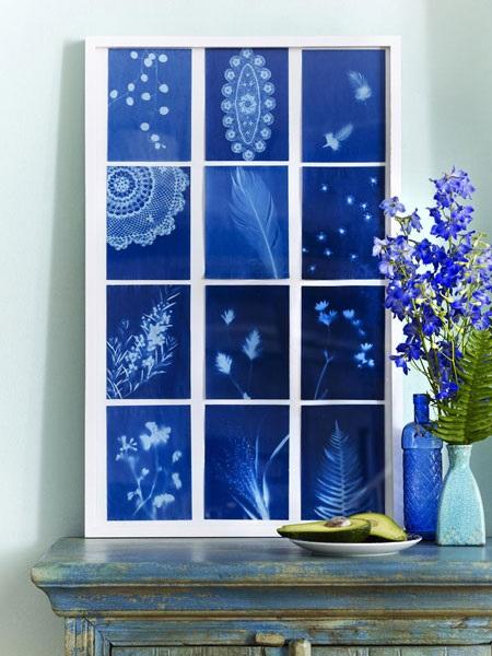 blue flowers creative ideas 03
