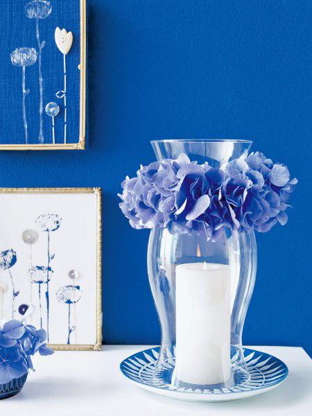 blue flowers creative ideas 05
