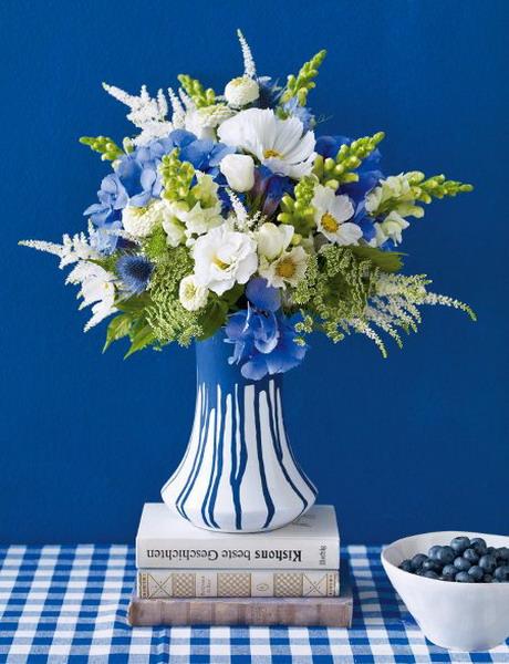 blue flowers creative ideas 06