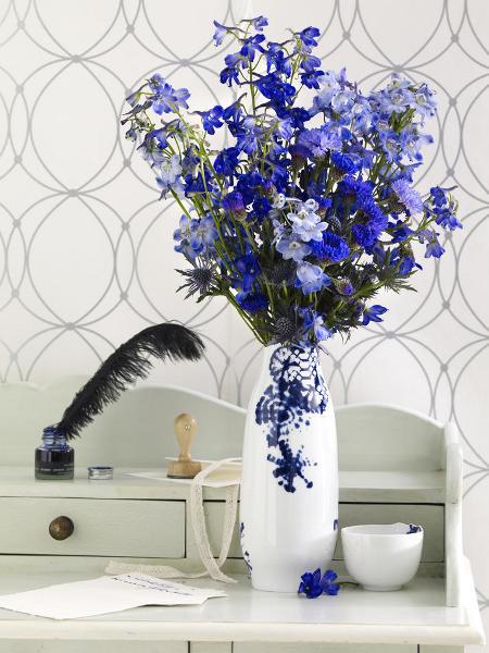 blue flowers creative ideas 07