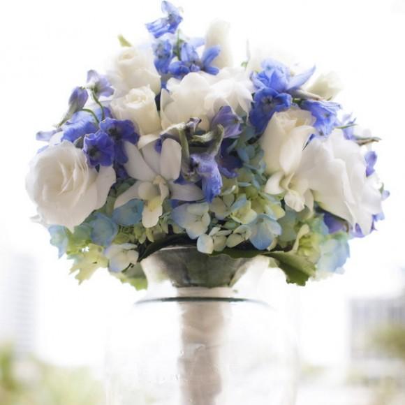 blue flowers creative ideas 08