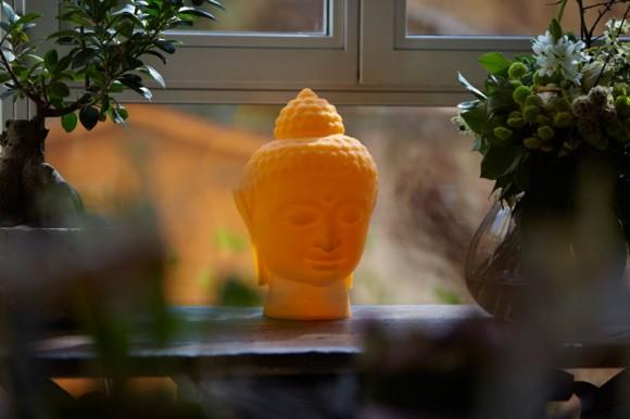 buddha polyethylene lamp 01
