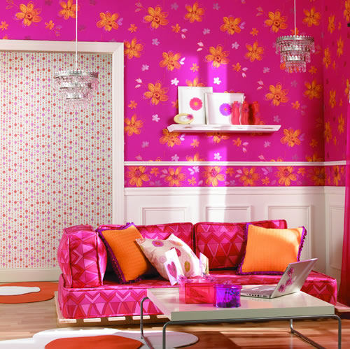 cool teen room bright color 02