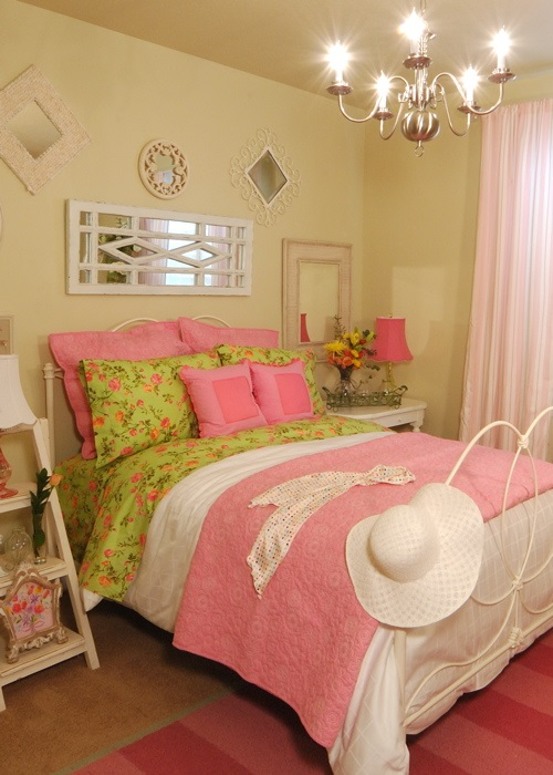 Vintage style teen girls bedroom ideas beautiful modern home for Chic bedroom ideas for teenage girls