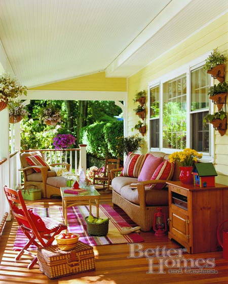 Enclosed Porch Decorating Ideas: Designing The Veranda Of The House- Ideas For Furniture